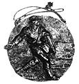 「種まく人」のレリーフ